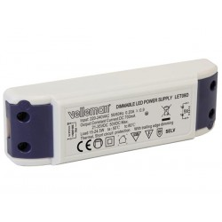 Driver led 700mA 50V max dimmable
