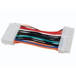 Câble d'alimentation ATX 20P vers 24P 8 cm