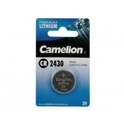 Pile CR2430C 3V Lithium Camelion