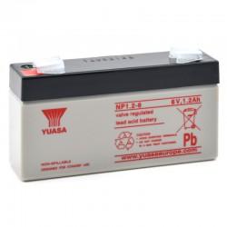 Batterie plomb 6V 1.2Ah Yuasa 97 X 25 X 54,5