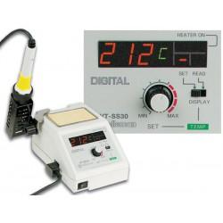 Station de soudage réglable 48W 150-480 °C avec afficheur numérique