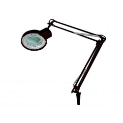 Lampe loupe 5 dioptries 22w noir