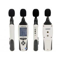 Sonomètre numérique 30 à 130 dB avec enregistrement