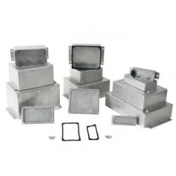 Coffret série GBS en aluminium coulé avec bride