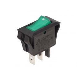 Interrupteur à bascule unipolaire 28.5x14