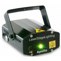 Mini laser rouge et vert Apollo