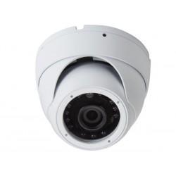 Caméra HD-TVI dôme extérieur 1080P blanche avec infrarouge