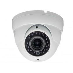 Caméra HD-TVI dôme extérieur avec varifocale et infrarouge