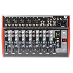 Table de mixage 9 canaux, effet audio