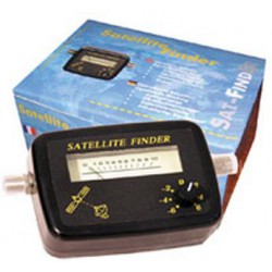 Pointeur parabole satellite