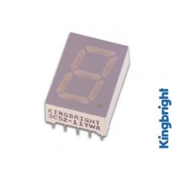 Afficheur 7 segments 13mm cathode commune