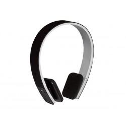 Casque stéréo compact avec micro Bluetooth, noir