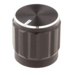 Bouton Ø15mm, pour axe de 6mm
