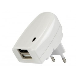 Chargeur double USB 2A