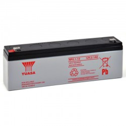 Batterie plomb 12V 2.1Ah Yuasa 178 X 34 X 64