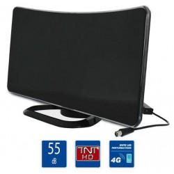 Antenne TNT d'intérieur 55dB + Filtre 4G LTE