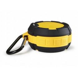 Enceinte 5W Bluetooth autonome, jaune