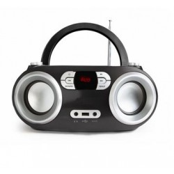Radio CD, Bluetooth, USB MP3, noir