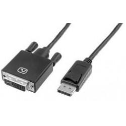 Cordon Displayport DVI 1.2 1m