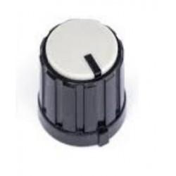Bouton Ø13.3mm, pour axe de 6mm