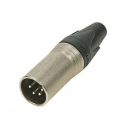 Connecteur XLR 4 points mâle Neutrik