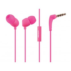 Ecouteur intra auriculaire avec micro Roxcore Bullets V2 rose