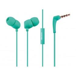 Ecouteur intra auriculaire avec micro Roxcore Bullets V2 vert