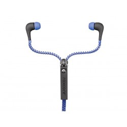 Ecouteur intra auriculaire Roxcore Zippers bleu