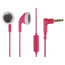 Ecouteur avec micro Roxcore Buds rose