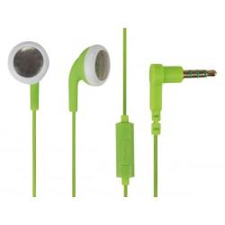 Ecouteur avec micro Roxcore Buds vert