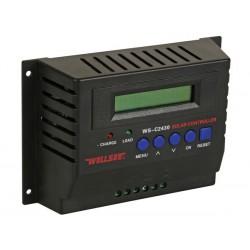 Régulateur de charge solaire 12 et 24 V 30 A