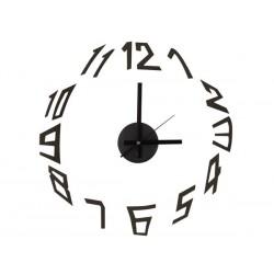 Horloge murale autocollante