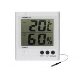 Thermomètre / Hygromètre grand afficheur LCD