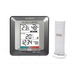 Moniteur de qualité de l'air avec thermomètre La Crosse