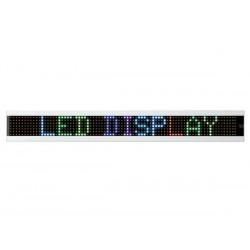 Journal lumineux multicolore Led RVB avec télécommande 50 cm