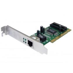 Carte réseau interne PCI 10/100/1000 Mbps