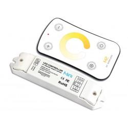 Variateur led de température de couleur avec télécommande RF