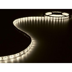 Ruban flexible blanc chaud à led avec alimentation 5m