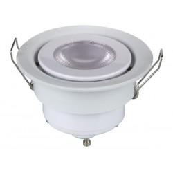 Spot led encastrable 5W GU10 blanc chaud