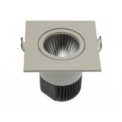 Spot led encastrable 6.5W 550 lm blanc chaud