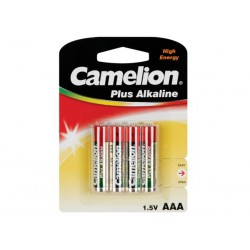 Pile AAA 1.5V Alcaline Camelion par 4