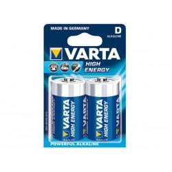 Pile LR20 1.5V Alcaline Varta par 2