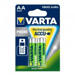 Batterie LR06 AA 1.2V NiMH pour téléphone sans fil 1600 mAh