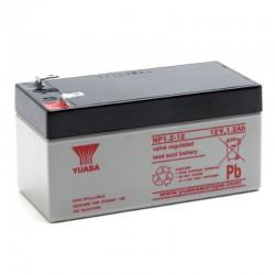 Batterie plomb 12V 1.2Ah Yuasa 97 X 48 X 54.5