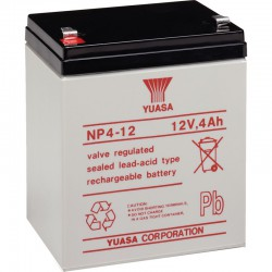 Batterie plomb 12V 4Ah Yuasa 90 X 70 X 106