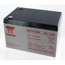 Batterie plomb 12V 12Ah Yuasa 151 X 98 X 97.5