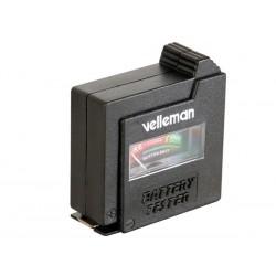 Testeur de piles 1.5V et 9V compact
