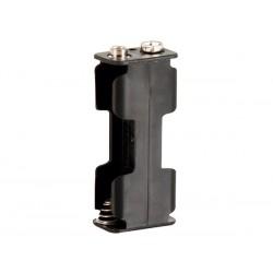 Coupleur 2 piles AA (LR06) avec contacts à pression