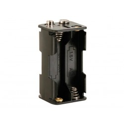 Coupleur pour 4 piles AA (LR06) avec contacts à pression