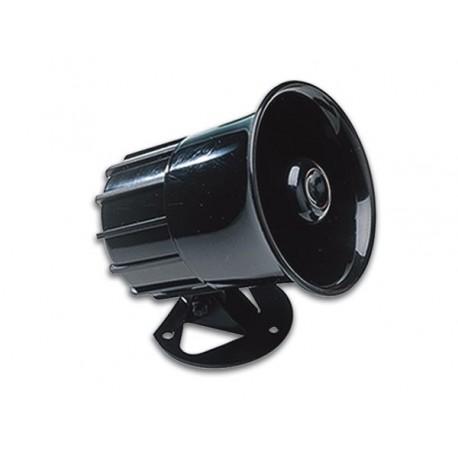 Sirène électronique 125 dB 6 à 12Vdc